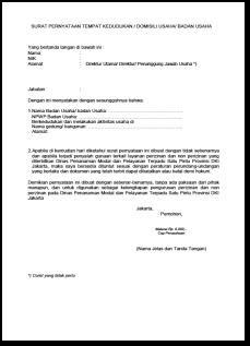 Surat Keterangan Formulir Hasil Pencarian