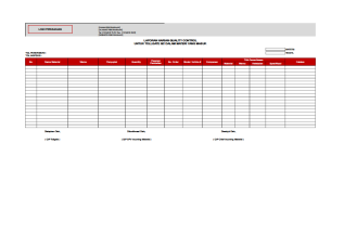 Qa Qc Report Template And Sample With Customisable Format